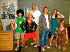 Recess costumes! I love this and want to do it next year