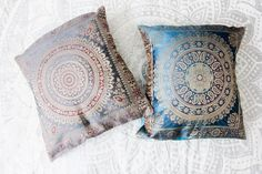 These Beautiful Gypsy Bohemian Decorative Pillow Covers are gorgeous to accent…