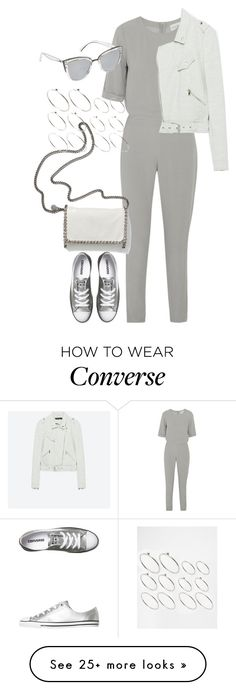 """Untitled #4292"" by keliseblog on Polyvore featuring American Vintage, Converse, STELLA McCARTNEY, ASOS, Quay and vintage"