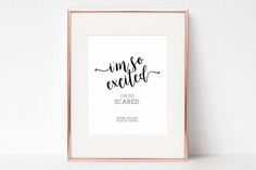 """Saved by the Bell Jessie Spano """"I'm so excited, I'm so scared"""" Wall Art by Arbor Grace Collections"""