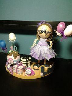 Fofucha personalizada cumpleaños