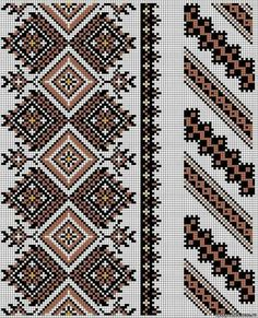 Cross stitching , Etamin and crafts: Traditional cross stitch Pattern Cross Stitch Borders, Cross Stitch Designs, Cross Stitching, Cross Stitch Patterns, Embroidery Motifs, Cross Stitch Embroidery, Embroidery Designs, Broderie Bargello, Mochila Crochet