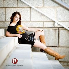 Downtown Fayetteville, NC Stairs Senior Portraits by Ryan David Jackson Photography  www.seniorportraits.ryandavidjackson.com  #outdoorportraits #ncportraits #northcarolina #photography #photographer #ncseniorportraits #bestphotographer #fayettevillephotography