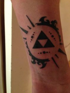 New Tattoo The Triforce From Legend Of Zelda By Keristera