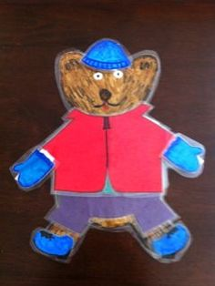 Classroom DIY: Weather Bear- I will absolutely be making this for my board!!