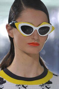 Prabal Gurung SS14 New York Fashion Week #NYFW #nyfw #Prabal Gurung #ss14 #runway #sunglasses