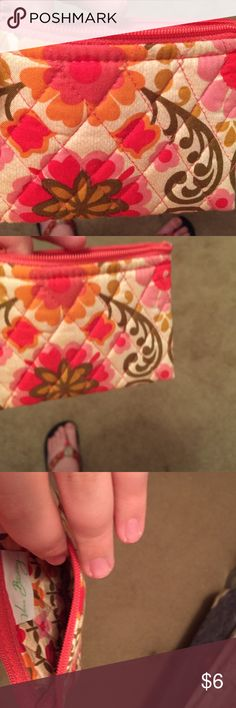 Vera Bradley coin purse This is a used good condition Vera Bradley coin purse in the folkloric pattern Vera Bradley Bags