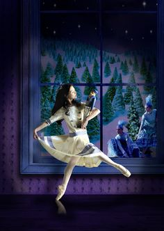 Scottish Ballet's The Nutcracker with Tomomi Sato as Marie. Photo credit: Andrew Ross.