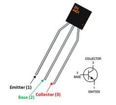 2N4401 Transistor Pinout