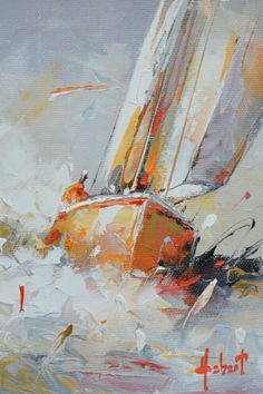 Boat Art, Galerie D'art, Painting, Ocean Waves, Boating, Contemporary, Board, Artist, Painting Art