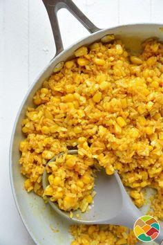 Risotto au maïs Corn Risotto Recipe, Risotto Recipes, Baby Food Recipes, Healthy Recipes, Healthy Foods, Cauliflower Risotto, Watermelon Radish, Baked Corn, Vegetarian Cooking