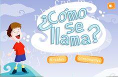 Actividades para Educación Infantil: Aprendiendo vocales y consonantes