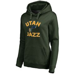 Utah Jazz Women's Overtime Pullover Hoodie - Green