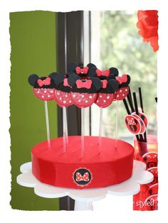 Minnie Mouse Birthday Party Ideas | Photo 1 of 24 | Catch My Party