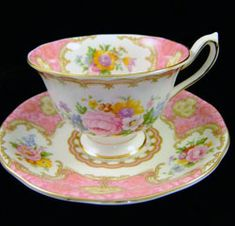 """""""Original"""" Avon Shape, tea cup and saucer, by Royal Albert - Lady Carlyle Teaware and Gifts www.royalalbertpatterns.com"""