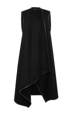 Sleeveless Wool Cashmere Wrap Vest by Salvatore Ferragamo - Moda Operandi