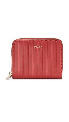 DKNY Gansevoort Zip Wallet. #dkny #bags #leather #wallet #accessories #