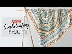 The Katia Oasis Mandala CAL 2020 has started! This beautiful baby blanket is a FREE pattern designed by (+video tutorial by my mom! Plaid Crochet, Love Crochet, Crochet Mandala, Manta Crochet, Zen Doodle Patterns, Doodle Borders, Mandala Blanket, Crochet Stitches, Crochet Patterns