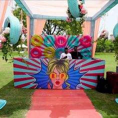 Dj set up Indian Wedding Decorations, Pool Party Decorations, Stage Decorations, Wedding Themes, Engagement Decorations, Pool Party Games, Wedding Stage Design, Mehndi Decor, Wedding Mandap