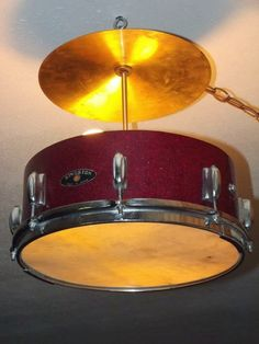 3 Spurz D&C Repurposed /Refurbished Creations!!: Snare Drum and Cymbal Lighting 2014