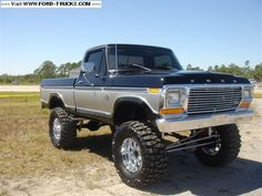 1979 Ford F150 4x4 - F-150. Had one the same model.....mine didn't look THIS good