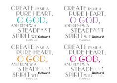 Create and Renew. Psalm 51:10. Printable.