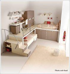 子供部屋に似合いそうな海外のロフトベッド7点|子供部屋のインテリアコーディネート&レイアウト
