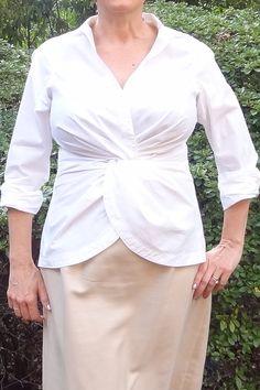 byron lars twist front blouse