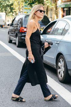 Black dress for summer