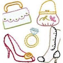Sublime Stitching Embroidery Pattern - Dress Up