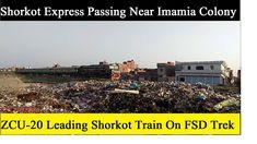Shorkot Express Speeding Up Near Imamia Colony Pakistan Railways, Trek, Colonial, Journey, The Journey