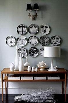 Plates,love Fornasetti!