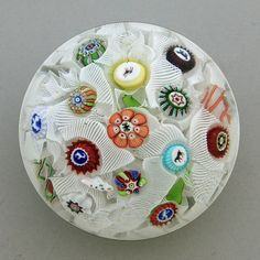 All about glass paperweights - identification, valuations, images etc
