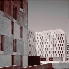 Social Housing Villaverde, Madrid, by David Chipperfield