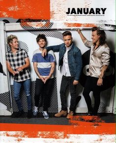New picture of the boys for their 2017 calendar!