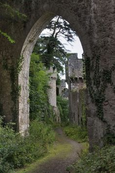 Philotheoristic - myinnerlandscape:   Castle Gwrych in North Wales