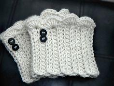 Boot Socks Crochet Boot Cuff Boot Cuffs by knottycreationsbyET, $15.00