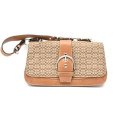 Coach Signature Canvas Flap Shoulder Bag. Get one of the hottest styles of the season! The Coach Signature Canvas Flap Shoulder Bag is a top 10 member favorite on Tradesy. Save on yours before they're sold out!