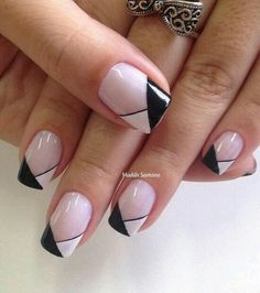 Nageldesign & Nailart great ideas for winter nail art # ideas # great # winter Jacobean Style An Trendy Nail Art, Easy Nail Art, French Nails, French Manicures, French Pedicure, White Nails, Pink Nails, White Glitter, Glitter Nails