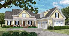 Country Home with Bonus Room - 15057NC | 1st Floor Master Suite, Bonus Room, Butler Walk-in Pantry, CAD Available, Corner Lot, Country, Den-Office-Library-Study, PDF, Photo Gallery, Traditional | Architectural Designs