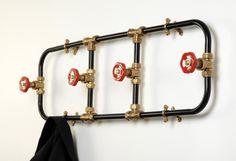 10 DIY Amazing Coat Racks