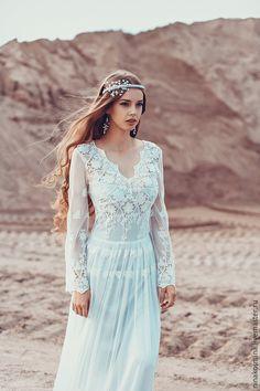 e86ebc6fd5a Wedding dress in Boho style – shop online on Livemaster with shipping -  7280DCOM