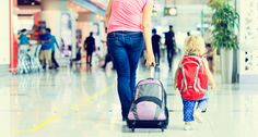 Airline Travel Tips for Kids Five and Under. Read more online at www.mops.org/blog.