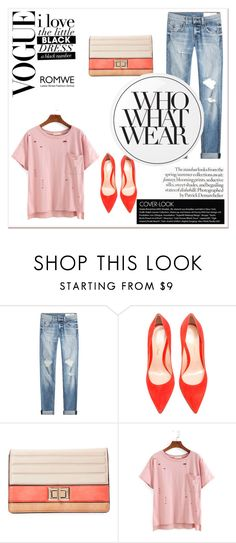 """""""Street style"""" by emm95-cd ❤ liked on Polyvore featuring rag & bone, Gianvito Rossi, Melie Bianco, Essie and Who What Wear"""