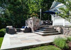 Pelham Shingle Style for a Modern Family modern patio