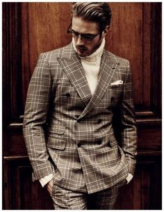 Mens Suit-luxurious fall look