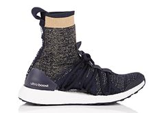 The Stella McCartney adidas Ultra Boost X High is available today from Barney's New York for $250 USD featuring a unique new ankle collar. Details here: