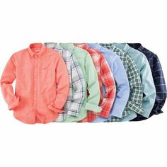 Ton's of Merona™ men's long-sleeve button-down shirts available at Target right now! One of the staples of Men's fashion today, pick one up and rock it casual or dress it up for dinner!