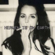 Lana Del Rey - Ultraviolence _ Heaven is on Earth.
