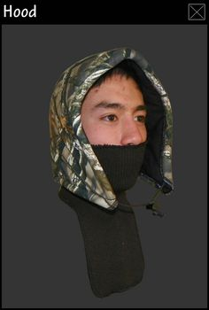 Heater Body Suit   Products - Hoods